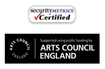 Security Metrics & Arts Council England logo