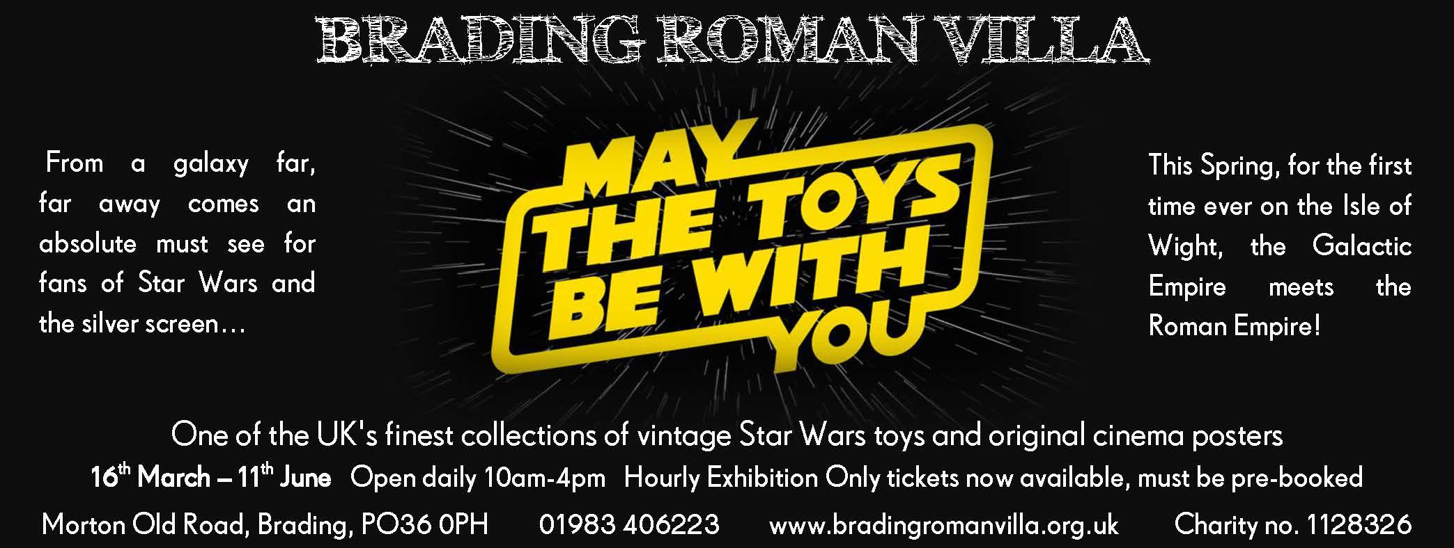 Star Wars Exhibition ad
